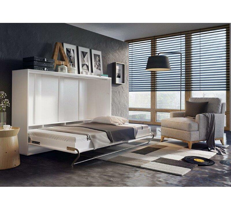 Brayden Studio Woodham Full Double Murphy Bed With