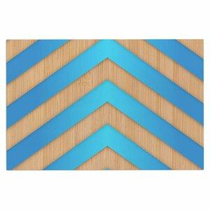 'Turquoise Chevron' Doormat