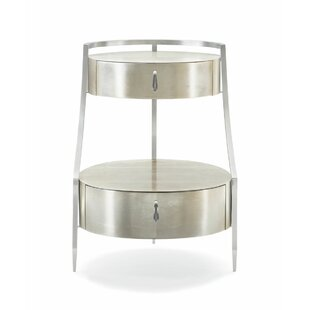 Charmant Two Tiered End Table