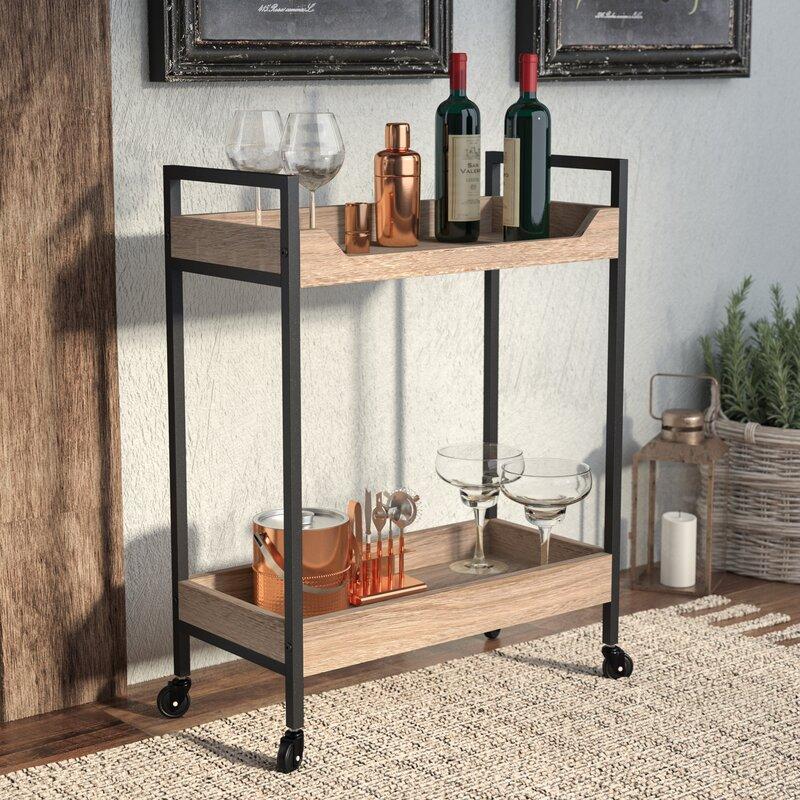 Laurel Foundry Modern Farmhouse Ermont Bar Cart Reviews