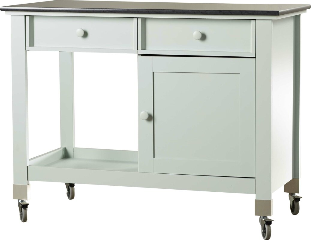 august grove quinte kitchen island u0026 reviews wayfair