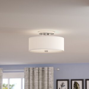 Bennet 2-Light Semi Flush Mount