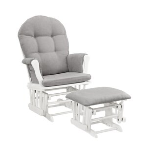 Wonderful Windsor Glider And Ottoman