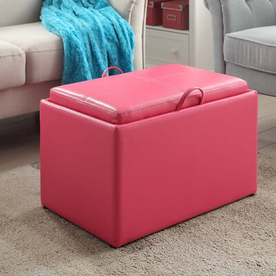 Home Loft Concepts Henderson Storage Ottoman & Reviews | Wayfair