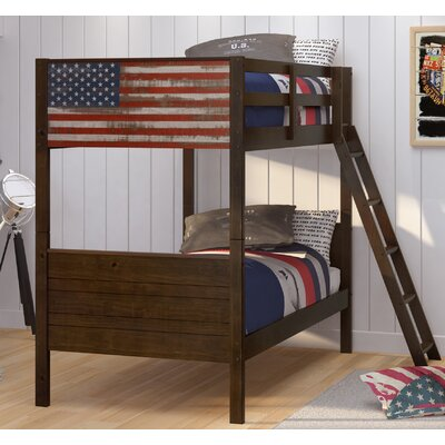 Bearfield Twin Over Bunk Bed