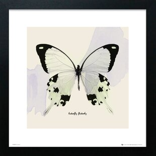 e86a0715568 Butterfly  Framed Graphic Art Print