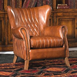 bugatti wingback chair - Leather Wingback Chair