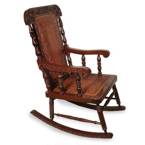 Nobility Rocking Chair by Novica