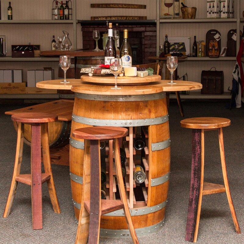 Elegant Wine Barrel Dining Room Table Inpretty Part 16