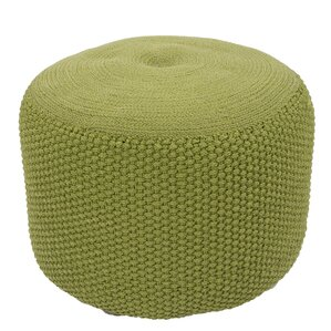 Flemingdon Solid Polypropylene Pouf Ottoman by Varick Gallery