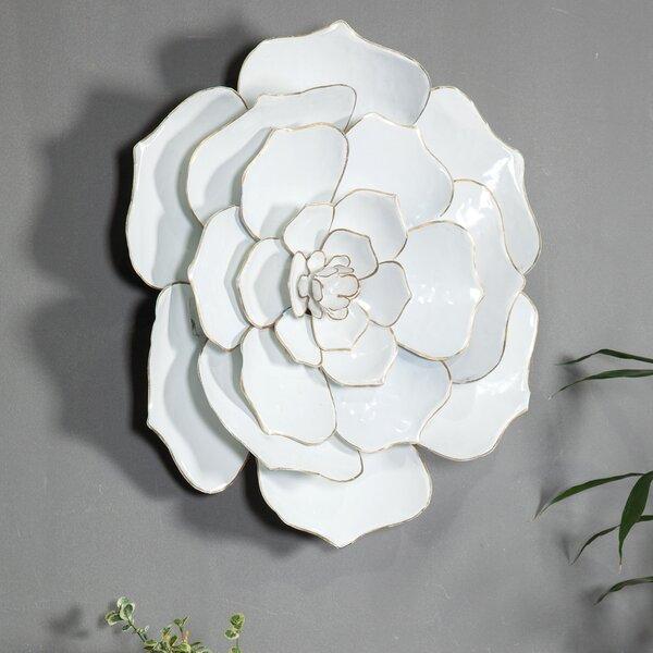 d26bb69d98 Rosdorf Park Flower Metal Wall Décor | Wayfair