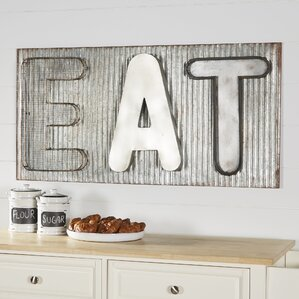 Eat Wall Decor wall accents | birch lane