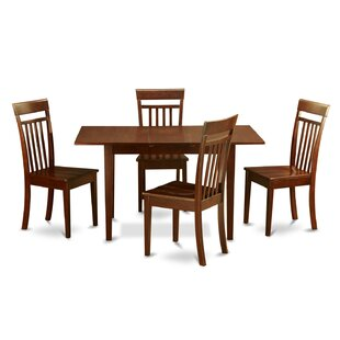 Balfor 5 Piece Extendable Dining Set