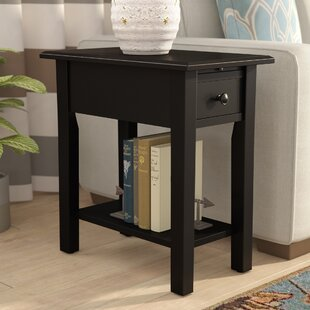Small Accent Table With Drawer | Wayfair