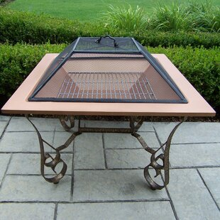 Victoria Fire Pit In Copper