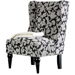 Anheuser Contemporary Wingback Chair by Alco..