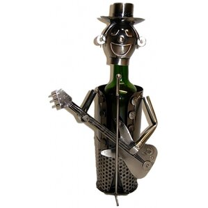 Fraser Guitarist 1 Bottle Tabletop Wine Rack by Red Barrel Studio