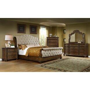 Sleigh Bedroom Sets You\'ll Love | Wayfair