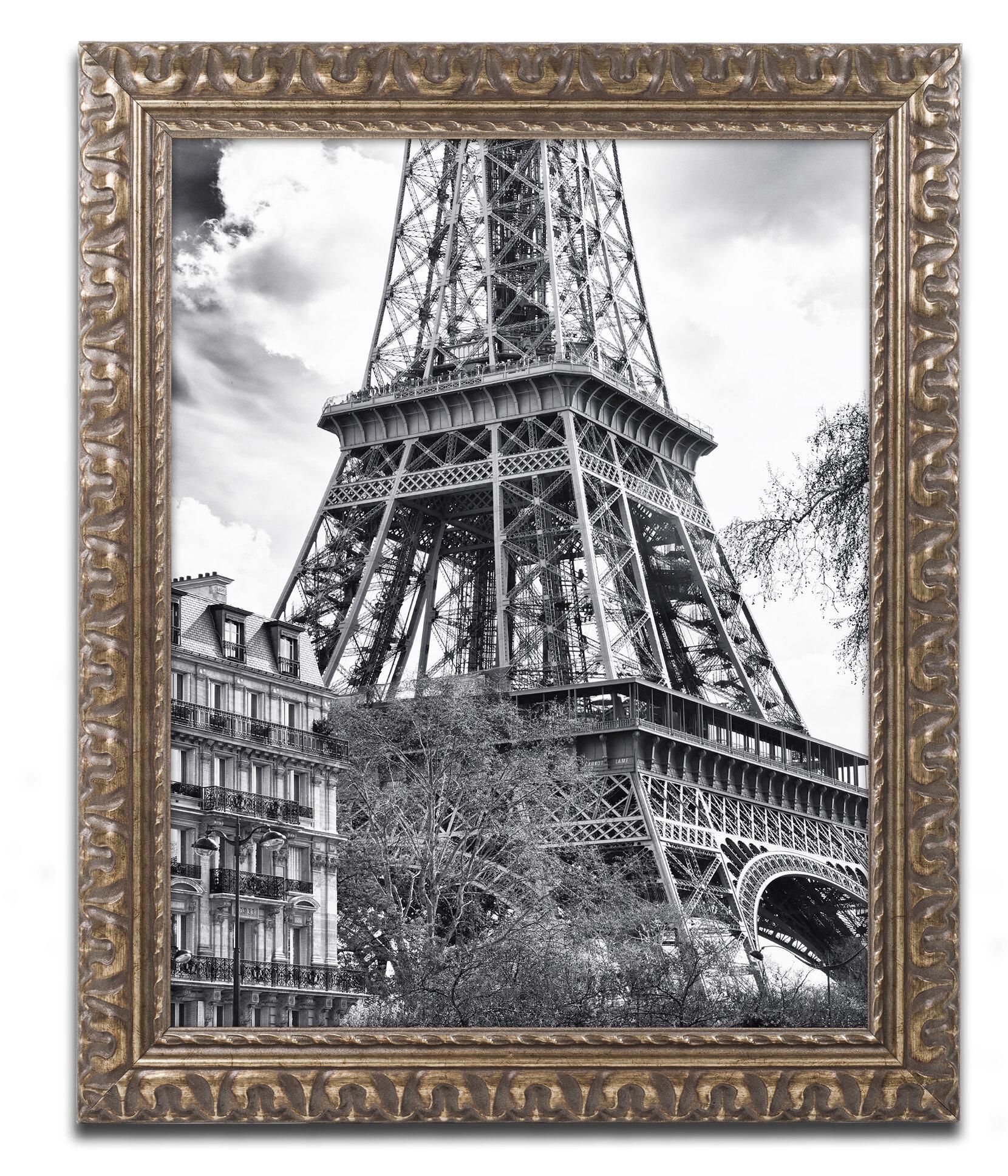 Latitude run eiffel tower paris ii framed photographic print latitude run eiffel tower paris ii framed photographic print reviews wayfair jeuxipadfo Images