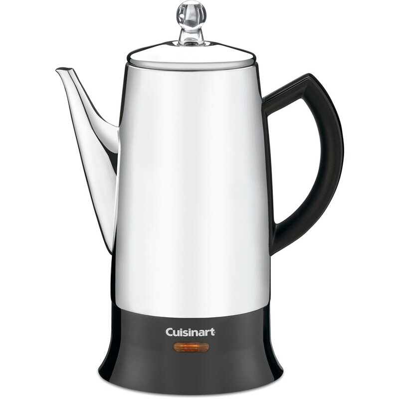 Cuisinart 12 Cup Stovetop Percolator Reviews Wayfair