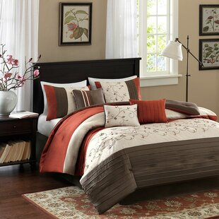 Burnt Orange Comforter Set  f689ff32fd0c