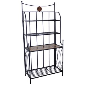 Boulder Brook Baker's Rack by Fleur De Lis Living