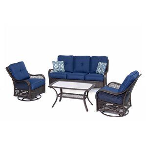 Navy Blue Patio Furniture | Wayfair