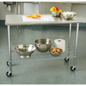 prep table with stainless steel top - Stainless Steel Prep Table