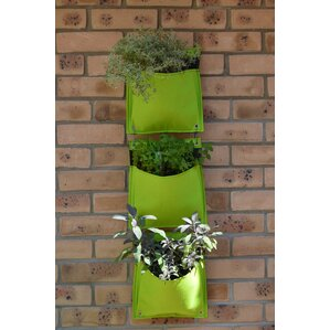 rectangular wall mounted planter set of 3