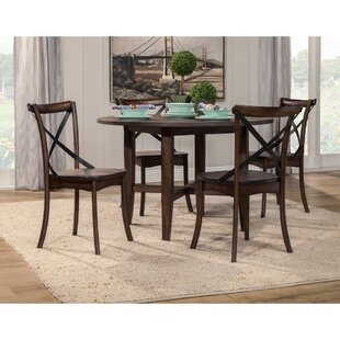 Santillan Solid Wood Dining Table