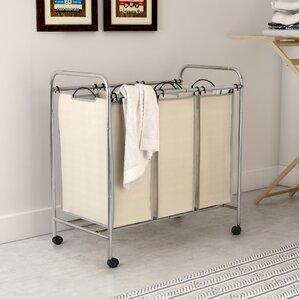 3 Bag Triple Laundry Sorter