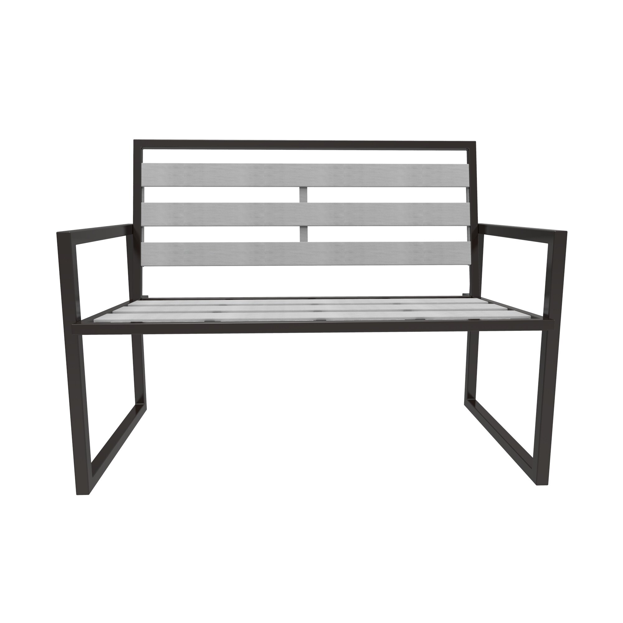 wood itm picnic outdoor patio fir garden bench white westwood seater sentinel home
