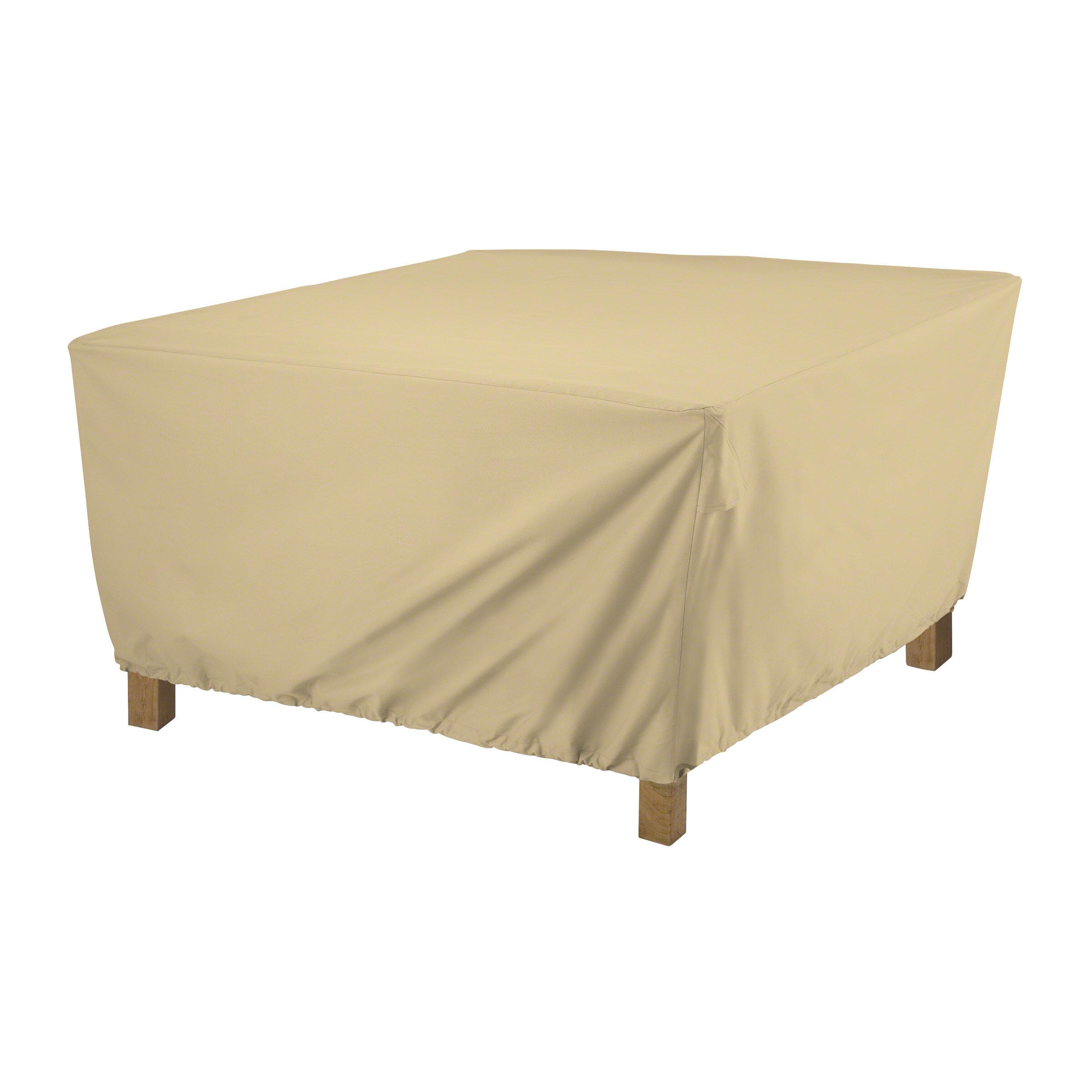 terrazzo square patio table cover joss main rh jossandmain com small square patio table covers square patio tablecloth