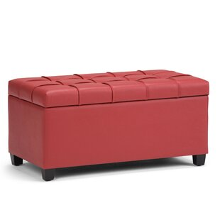Save  sc 1 st  Wayfair & Red Storage Benches You\u0027ll Love | Wayfair