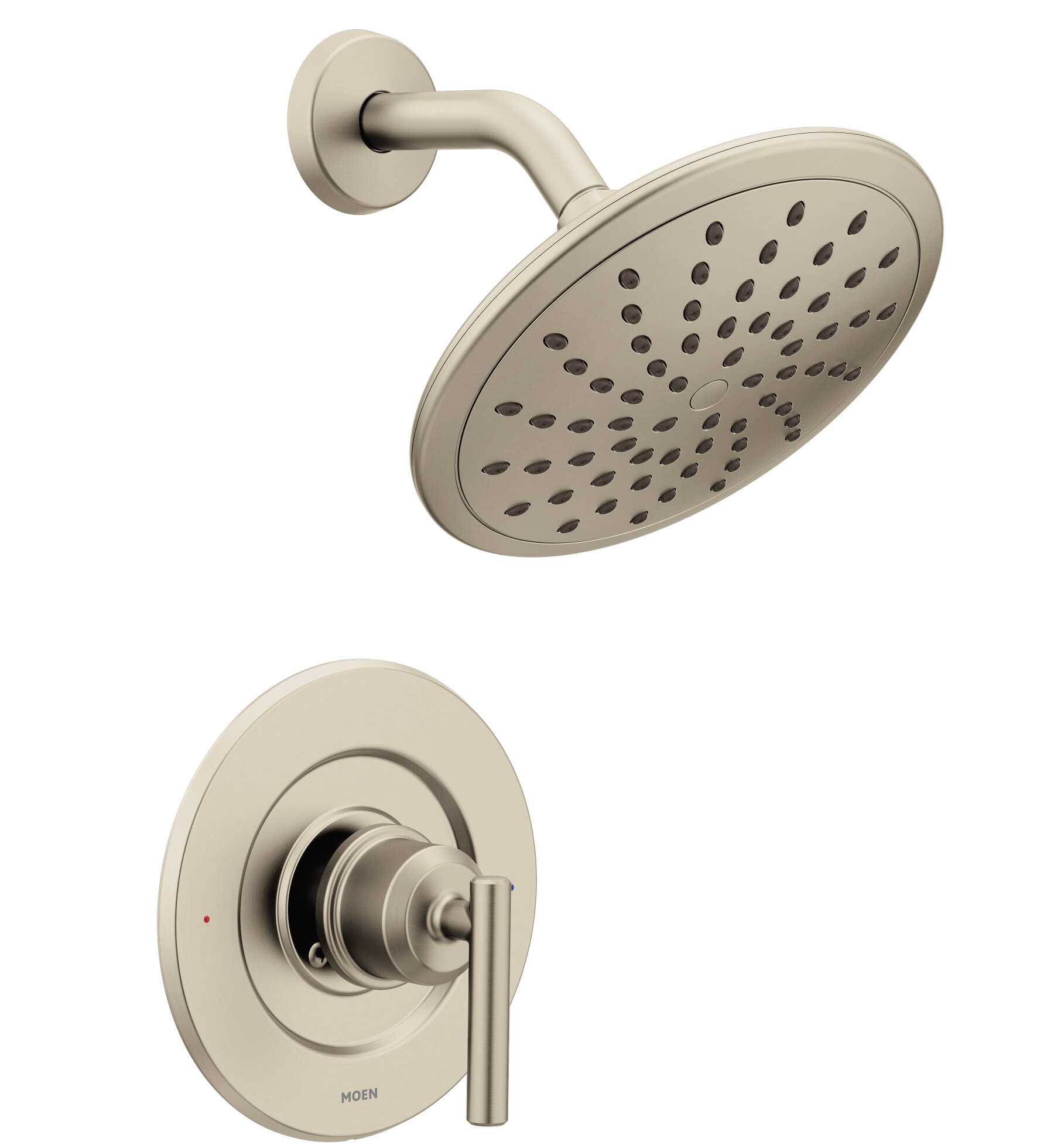 Moen Gibson Posi Temp One Handle Tub And Shower Faucet With Diverter