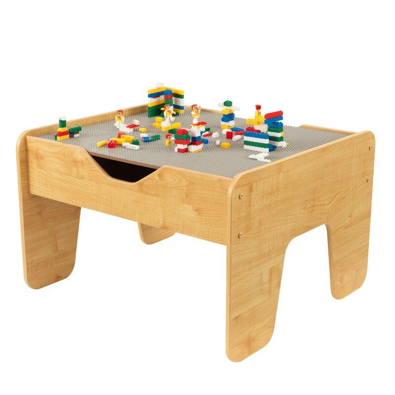 kidkraft activity kids 39 lego table reviews wayfair. Black Bedroom Furniture Sets. Home Design Ideas