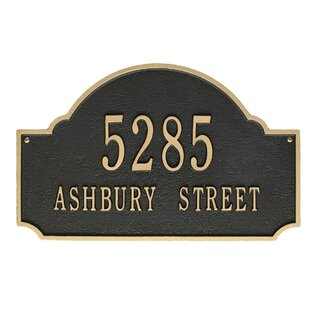 56bcf803bc05 Address Plaques & Signs You'll Love | Wayfair