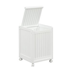 Abingdon Mobile Cabinet Laundry Hamper