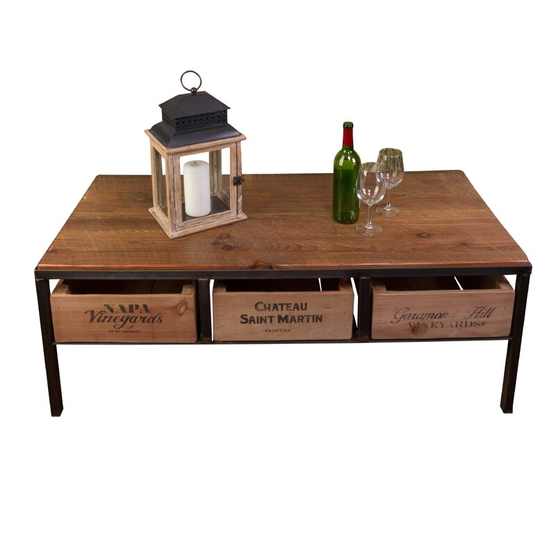 27 Eclectic Farmhouse Decor Family Rooms Coffee Tables 61: Vino Vintage Coffee Table & Reviews