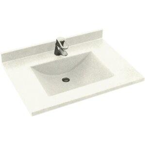 vanity countertop with sink. Contour 31  Single Bathroom Vanity Top Tops You ll Love Wayfair