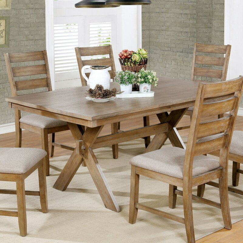 August Grove Absecon Transitional Dining Table Reviews