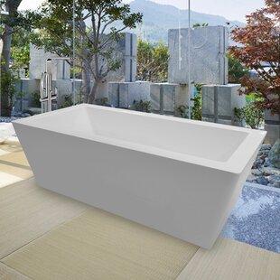 PureScape Freestanding Soaking Bathtub