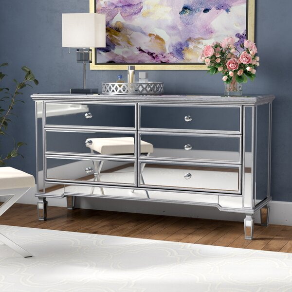 Emerita 6 Drawer Double Dresser Amp Reviews Birch Lane
