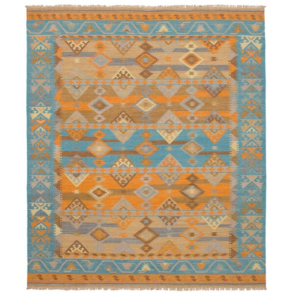 Turquoise And Orange Area Rug