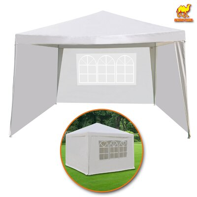 Wedding Outdoor C&ing BBQ Pavilion Cater Events 10 Ft. W x 10 Ft. D Steel Pop-Up Canopy  sc 1 st  Wayfair & Home Loft Concepts Almonte 10 Ft. W x 10 Ft. D Steel Permanent ...