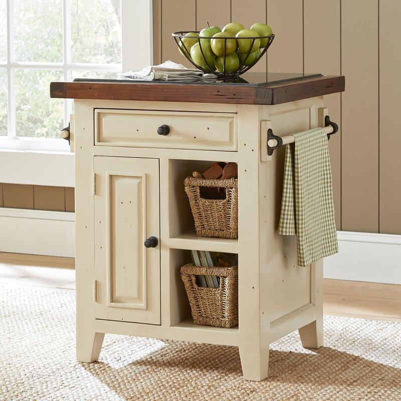 Birch Lane™ Harris Kitchen Cart & Reviews | Birch Lane