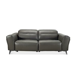 Paille Leather Reclining Sofa  sc 1 st  AllModern & Modern Reclining Sofas + Couches | AllModern islam-shia.org