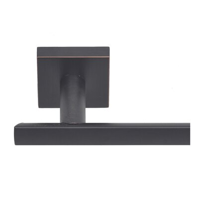 BetterHomeProducts Santa Cruz Wall Mounted Towel Bar Finish: Dark Bronze, Size: 24