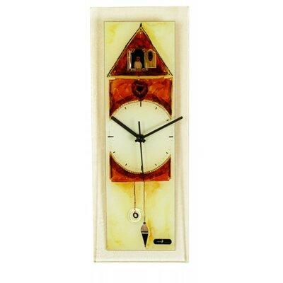 Mercury Glass Wall Clock Wayfair