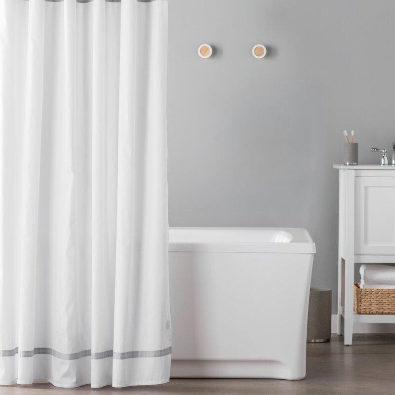 Hotel Cotton Single Shower Curtain